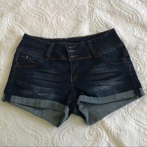 YMI Betta booty denim shorts